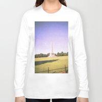 dublin Long Sleeve T-shirts featuring Dublin Skies by jonnykam