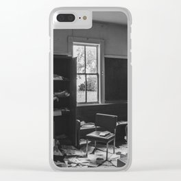 School, Arena, North Dakota 14 Clear iPhone Case