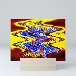 A More Colorful Flow Mini Art Print