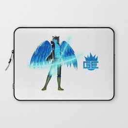 Luc Ready for Battle (No Background) Laptop Sleeve