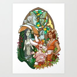Changeling The Dreaming Art Print