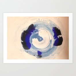 The Wave Series (vi) Art Print