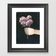 I Picked You Something Framed Art Print