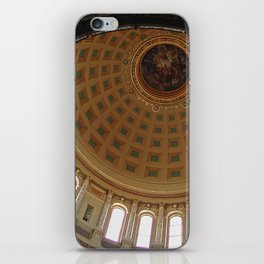 The rotunda of the Capitol building in Madison, Wisconsin iPhone Skin