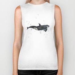Oh Whale Biker Tank