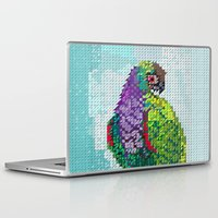 parrot Laptop & iPad Skins featuring Parrot  by Suburban Bird Designs