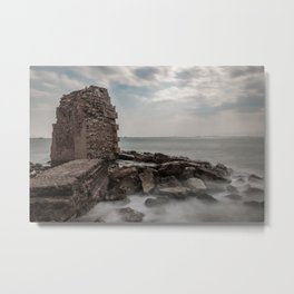 Akko ruins, long exposure Metal Print