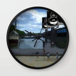 Listener Supported Wall Clock