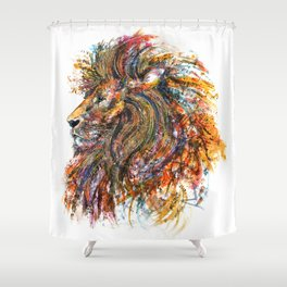 'The King' Shower Curtain