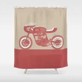 royal enfield special Shower Curtain