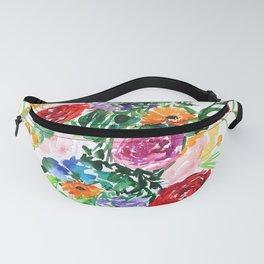 Flower Mandala Fanny Pack