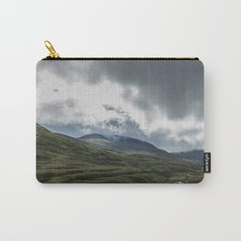Scottish Mountains with Rain Clouds Carry-All Pouch