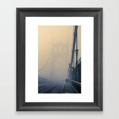 Gothic Fog Framed Art Print