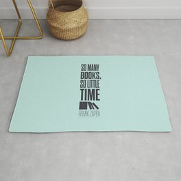 Lab No. 4 - Frank Zappa Quote Typography Print Poster Rug