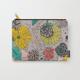 Olga loves flowers Carry-All Pouch