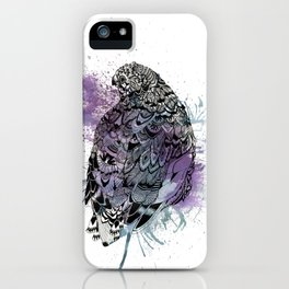 Patterned Quail iPhone Case