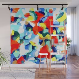 Abstract Avalanche Wall Mural