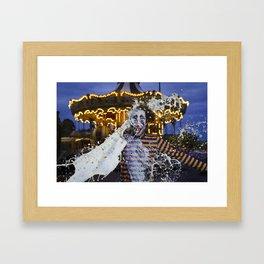 Clown Fruit Loops Milking - Le Grand Spectacle du Lait // The Grand Spectacle of the Milking Framed Art Print