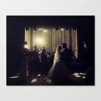 jewish Canvas Prints featuring Jewish Wedding by Yael Levey