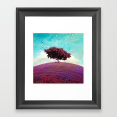 SUMMER HILL Framed Art Print