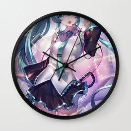 Hatsune Miku Wall Clock