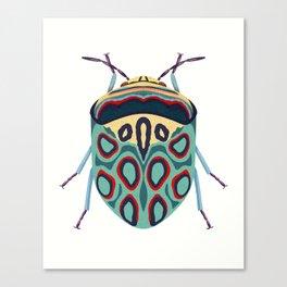 Blue Beetle Canvas Print