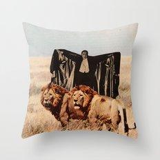 Dracula's Bitches Throw Pillow