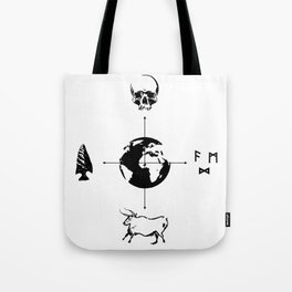 Anthropology: The Four Subdisciplines (Version 2.0) Tote Bag