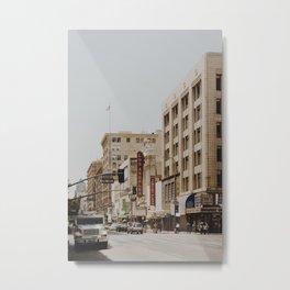 Downtown Los Angeles IV Metal Print