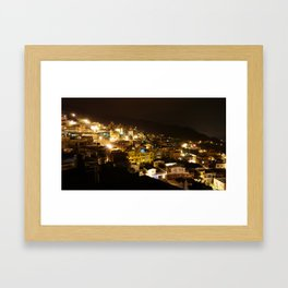 Taiwan Jiufen Framed Art Print