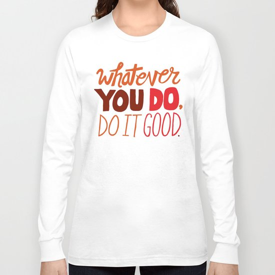 Express Yourself Long Sleeve T-shirt