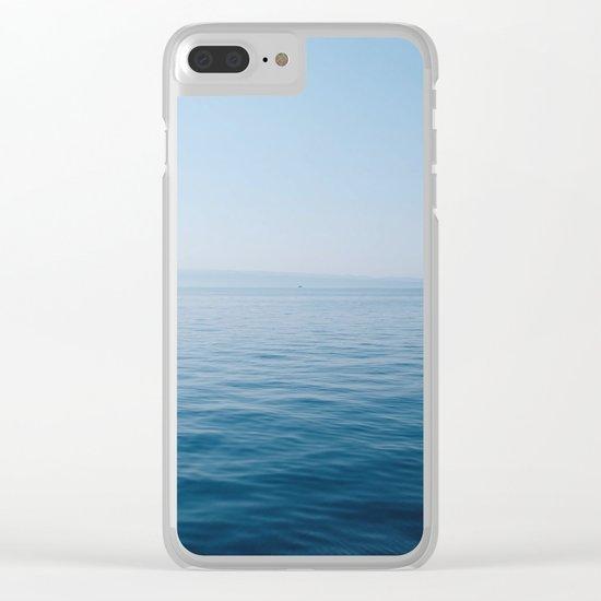 Wonderful Horizon Clear iPhone Case
