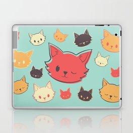 Kitty Wink Laptop & iPad Skin