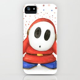 Confused Shy Guy iPhone Case