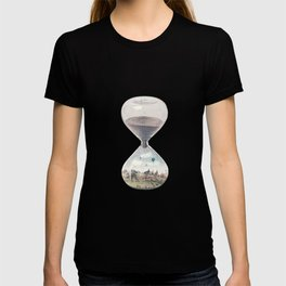 There's A City Where Time Stopped Long Ago T-shirt