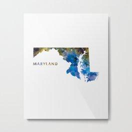 Maryland Metal Print
