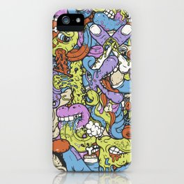 Alphabetcha Collage iPhone Case