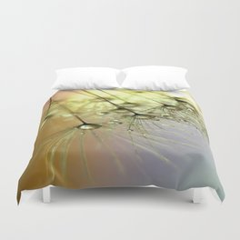 Dandelion & Droplets Duvet Cover
