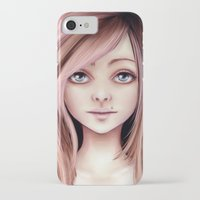 doll iPhone & iPod Cases featuring Doll by Stephanie W