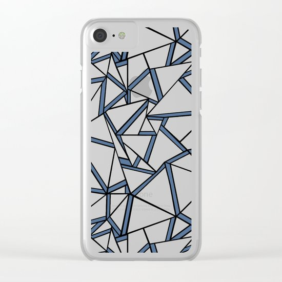 Ab 2 Blues Clear iPhone Case