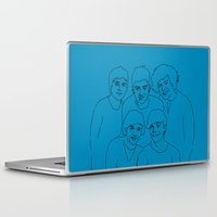 1d Laptop & iPad Skins featuring 1D by Rebecca Bear