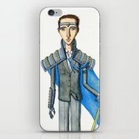 knight iPhone & iPod Skins featuring Knight by Eugene Frost