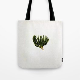 Botanical Moss Tote Bag