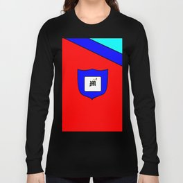 A Family Crest with a Capital Letter M, Mu Long Sleeve T-shirt