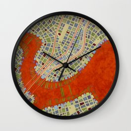 cypher number 13 (ORIGINAL SOLD). Wall Clock