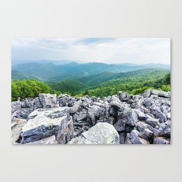 Rock & Rolling Hills Canvas Print