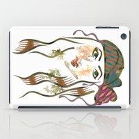 beth hoeckel iPad Cases featuring 'Hanna-Beth' Illustration by Suki Sabur