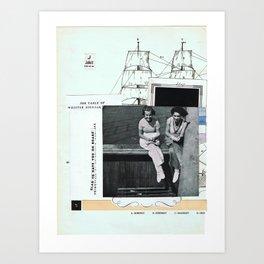 Juliett • – – – Art Print