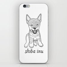 Dog Breeds: Shiba Inu iPhone & iPod Skin
