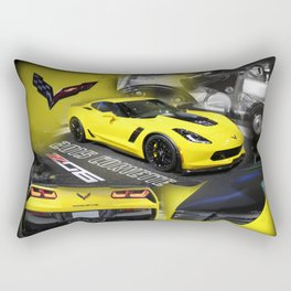 2015 Corvette ZO6 Rectangular Pillow